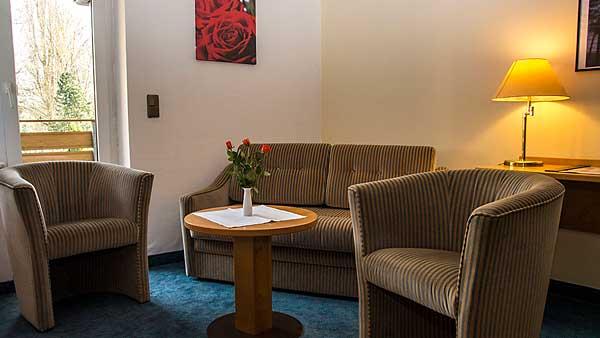 Zimmer hotel hotel harzparadies for Komfortzimmer doppelzimmer unterschied
